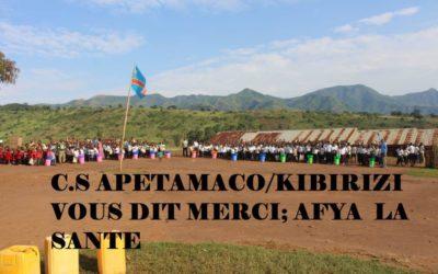Rentrée des classes à l'école primaire de Kibirizi